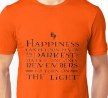 Happiness - Harry Potter quote Unisex T-Shirt