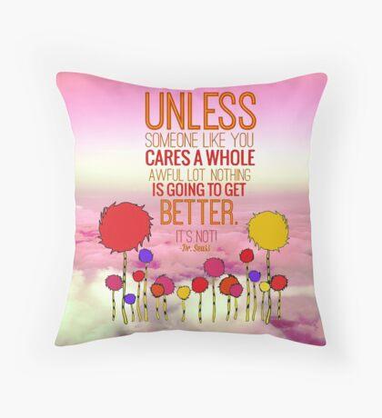 Unless Cloud Throw Pillow
