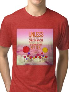 Unless Cloud Tri-blend T-Shirt