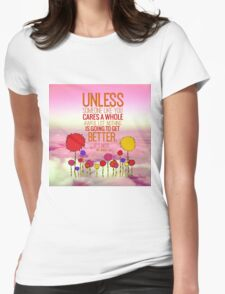 Unless Cloud Womens Fitted T-Shirt