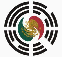 Korean Mexican Multinational Patriot Flag Series Baby Tee