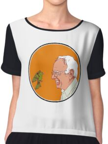 Bernie and The Bird Chiffon Top