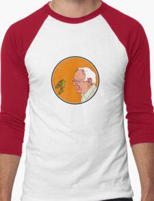 Bernie and The Bird Men's Baseball ¾ T-Shirt