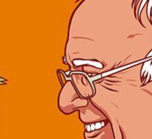 Bernie and The Bird Sticker