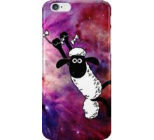Sheep Fly On Galaxy iPhone Case/Skin