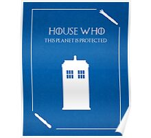 House Who Poster
