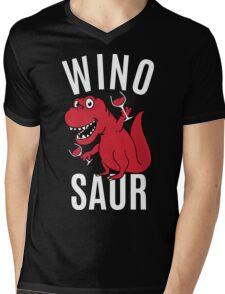 Smile Wino Saur say Winosaur Mens V-Neck T-Shirt