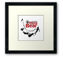 Mama Bear Peter Pan Framed Print