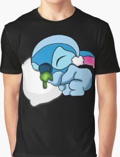 Cute Sleepy Head Graphic T-Shirt