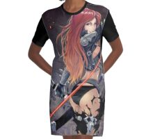 Katarina Sexy - The Sinister Blade Graphic T-Shirt Dress