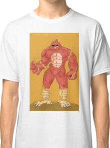 Angry cartoon monster  Classic T-Shirt