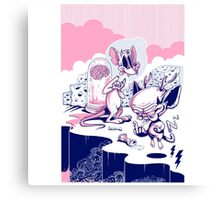 Vote Pinky And Brains, Let 'Em Control The State Canvas Print