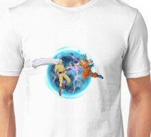 Saitama Vs. Goku Combat Unisex T-Shirt