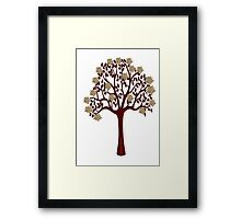 A tree with flowers [1215 Views] Framed Print