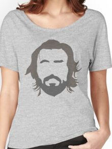 Andrea Pirlo - THE BEARD Women's Relaxed Fit T-Shirt