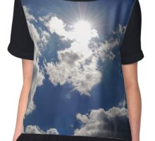 Excuse Me While I Kiss The Sky Chiffon Top
