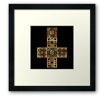 Lament Configuration Cross Framed Print