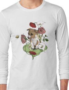 Puppy Bouquet Long Sleeve T-Shirt