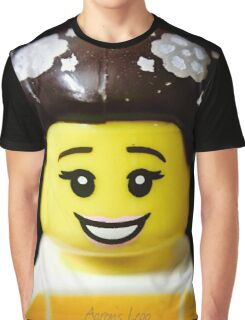 The Ballerina has come to Aaron's Lego Graphic T-Shirt