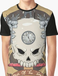 outdie skull Graphic T-Shirt
