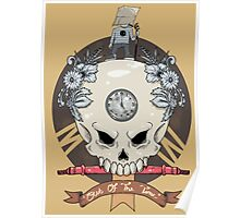 outdie skull Poster