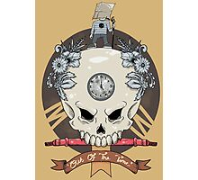 outdie skull Photographic Print