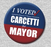 """I Voted Carcetti for Mayor (pin) - """"The Wire"""" Kids Tee"""