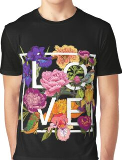 Floral and birds Graphic Design  Graphic T-Shirt