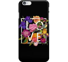 Floral and birds Graphic Design  iPhone Case/Skin