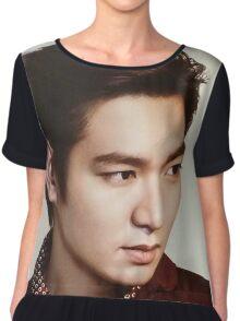 Handsome Lee Min Ho 5 Chiffon Top