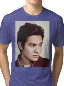 Handsome Lee Min Ho 5 Tri-blend T-Shirt