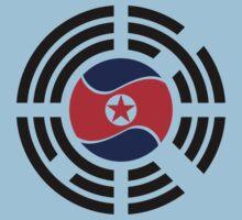 Korean Unity Flag  One Piece - Short Sleeve