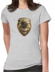 Valentine Detective Agency Gold Womens Fitted T-Shirt