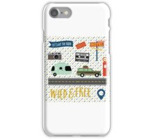 Let's Hit The Road iPhone Case/Skin