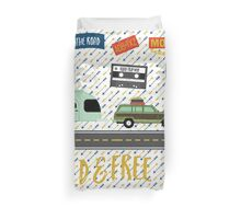 Let's Hit The Road Duvet Cover
