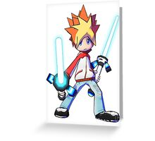 Spike - Ape Escape Greeting Card