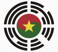 Korean Burkina Faso Multinational Patriot Flag Series One Piece - Long Sleeve