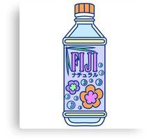 Aesthetic Fiji Water Bottle! Canvas Print