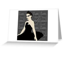 Swan Queen Greeting Card