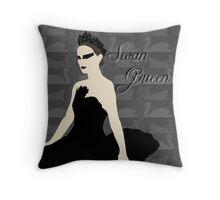 Swan Queen Throw Pillow