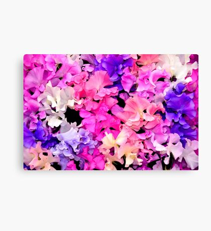 for you a sweet bouquet Canvas Print