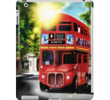 Route-Master, Red, City of London Antique Transport iPad Case/Skin