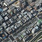 View Down From Skytree 2 (Tokyo, Japan) by Christian Eccleston