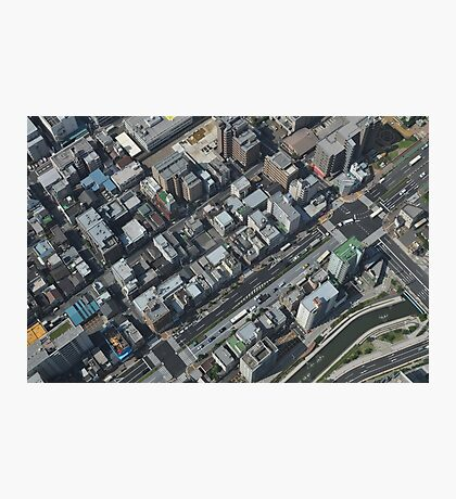 View Down From Skytree 2 (Tokyo, Japan) Photographic Print