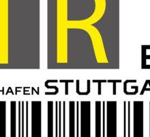 Destination Stuttgart Airport Sticker