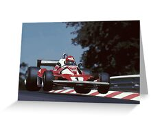 Niki Lauda Greeting Card