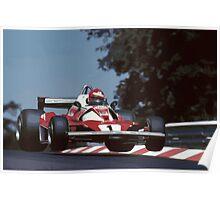 Niki Lauda Poster