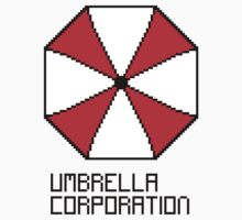 Umbrella Corporation pixel logo One Piece - Long Sleeve