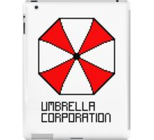 Umbrella Corporation pixel logo iPad Case/Skin