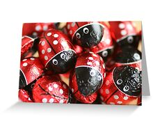 Red Wrapper Greeting Card